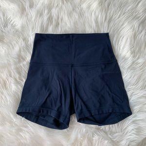 LULULEMON true navy align shorts